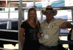Maddy and Nathan at Beef Week 2012
